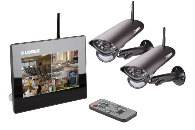 wireless residence safety cam